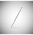 needle for sewing vector image vector image