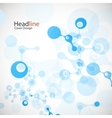 network background vector image vector image