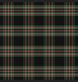 tartan plaid scottish checkered background vector image