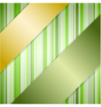 Background with ribbons vector image vector image