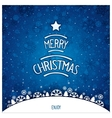 Christmas winterly backdrop vector image vector image