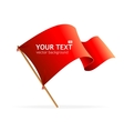 flag banner for text vector image vector image