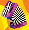 harmonica vector image