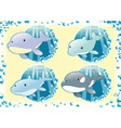 Ocean Family fish vector image