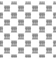 test tube pattern seamless vector image vector image