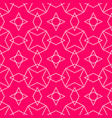tile pattern or pink and white background vector image vector image