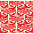 abstract seamless geometric red pattern
