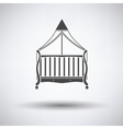 Cradle icon vector image
