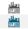 logo badge label logotype elements vector image vector image