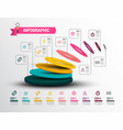 modern infographic layout - creative web vector image