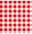 red lumberjack seamless pattern vector image vector image