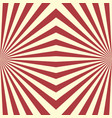 seamless geometric striped red pattern decorative vector image