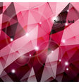 Triangle pink composition wallpaper vector image