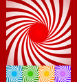 abstract spirally backgrounds twisted rotating vector image