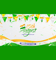 banner happy independence day in india