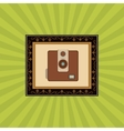 Flat about vintage camera design vector image vector image