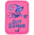 halloween background 2 vector image vector image