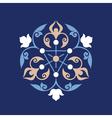 Ottoman decorative pattern vector image vector image
