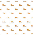 summer woman sandal pattern seamless vector image