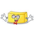 geek butter character cartoon style vector image