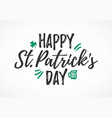 Happy st patricks day greeting card 17 march