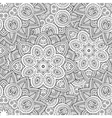 indian mandala seamless pattern vector image vector image
