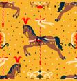 retro circus pattern vector image