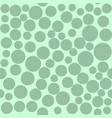 seamless art abstract mosaic green circles pattern vector image