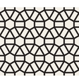 Seamless Black and White Geometric Lace vector image vector image