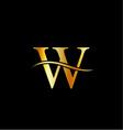 Alphabet logo vector image vector image