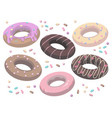 donut mix vector image