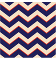 seamless patriotic chevron background vector image vector image