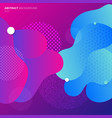 abstract colorful geometric fluid colors gradient vector image