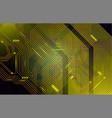 colorful microscheme design micro chip vector image