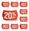 Discount price tags vector | Price: 3 Credits (USD $3)