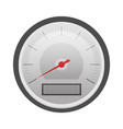 flat speedometer vector image