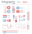infographics gender design elements vector image vector image