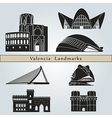 Valencia landmarks and monuments