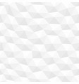 white distorted seamless hexagonal texture vector image vector image