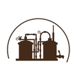beer tanks icon image design vector image