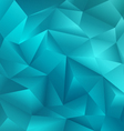 Crystal Blue Background vector image
