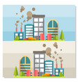 eco friendly ecology concept background vector image vector image