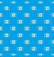 flag canada pattern seamless blue vector image