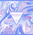 marble texture mix lilac and pink vector image