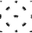 photos pattern seamless black vector image vector image