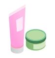 Cosmetics 3d isometric icon vector image vector image