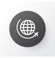 flight icon symbol premium quality isolated vector image vector image