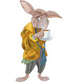 march hare vector image