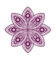 Ornament beautiful ethnic mandala Geometric vector image