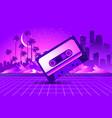retro style pop disco vector image vector image